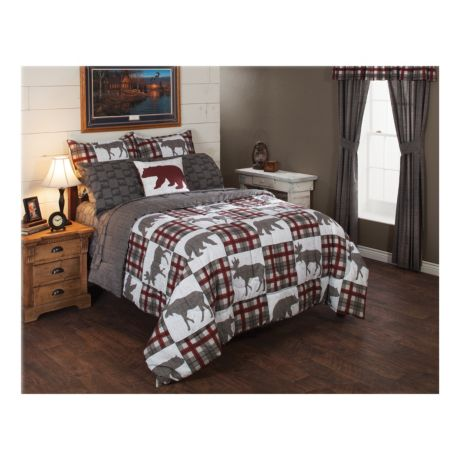White River Alaskan Wildlife Seven-Piece Bedding Set