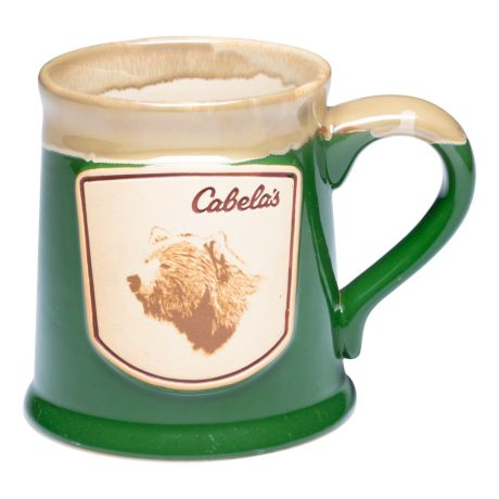 Cabela's Illustrated Reactive Glaze Stoneware Mug - Bear