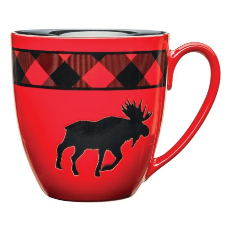 White River™ Bear Country Buffalo Plaid Giant Mug