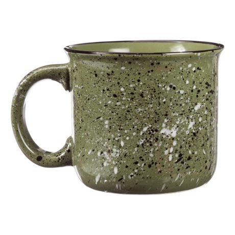 Bass Pro Shops Camp Mug - Moss Green - Back View
