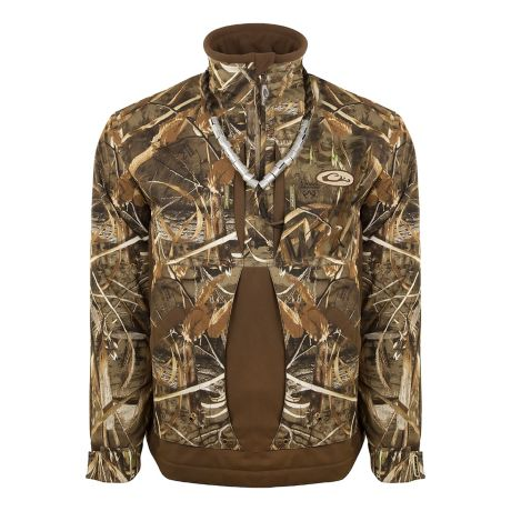 Drake Men's Guardian Flex™ 1/4 Zip Fleece Lined Jacket