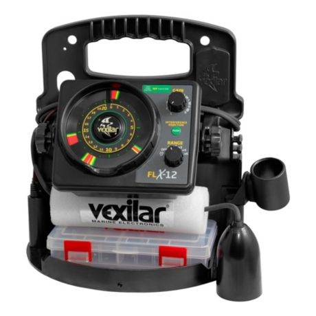 Vexilar FLX-12 Pro Pack II with 12 Degree Ice Ducer