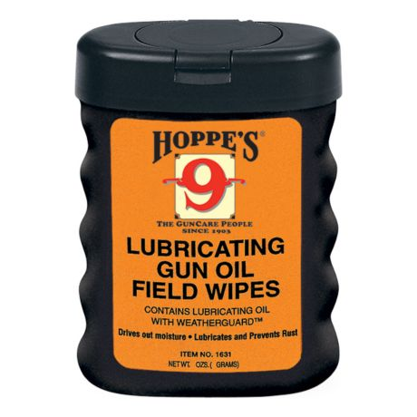 Hoppe's Lubricating Gun Oil Field Wipes
