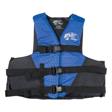 Bass Pro Shops® Traditional Water Ski/Recreational Life Jacket for Adults - Blue
