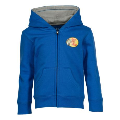 Bass Pro Shops® Infants'/Toddlers' Woodcut Full-Zip Hoodie - Blue