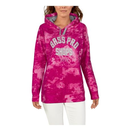 Bass Pro Shops Women's Game Day Hoodie - Cabela's O2™ Octane Pink/1972