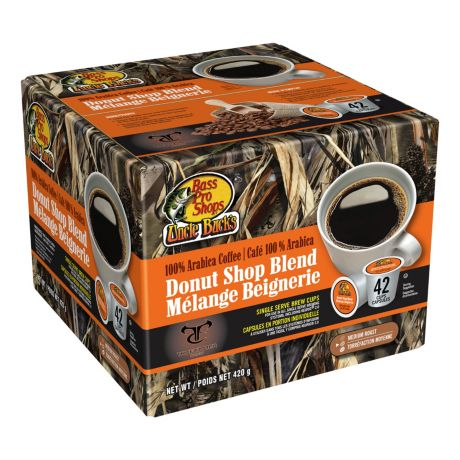 Bass Pro Shops Uncle Buck's Donut Shop Single-Serve Coffee Brew Cups – 42  count | Cabela's Canada