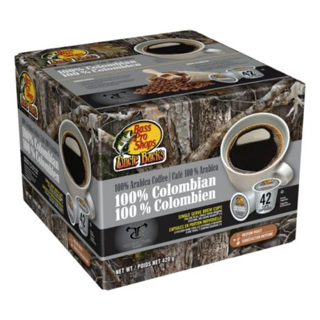 Bass Pro Shops Uncle Bucks Single Serve Colombian Coffee Brew Cups 42 Count Cabelas Canada