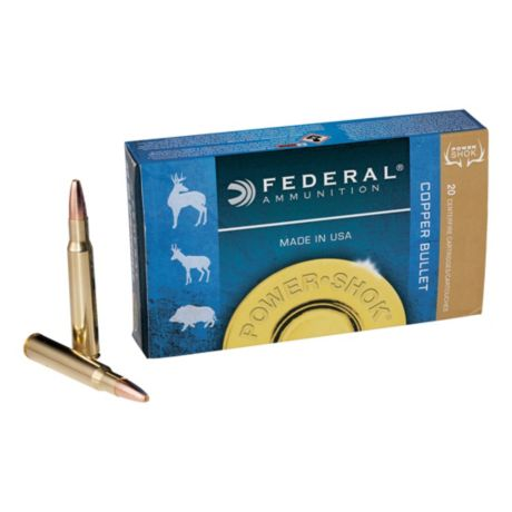 Federal® Power-Shok Copper Rifle Ammunition