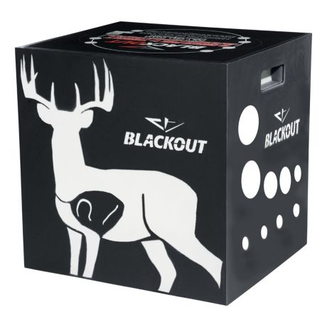 BlackOut® 6-Sided Foam Archery Target