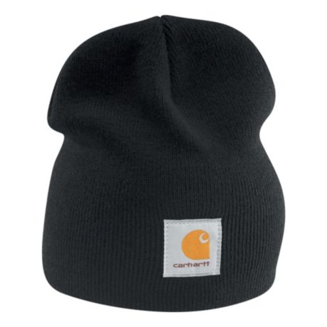 Mouse over image for a closer look. Carhartt® Acrylic Knit Hat - Black ... c213f494e669