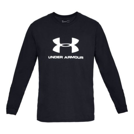 397a022d14e7 Under Armour® Men s Sportstyle Logo Long-Sleeve Graphic T-Shirt ...