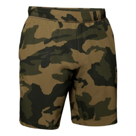 Under Armour® Men's Fusion Shorts - Guardian Green/Trail Green