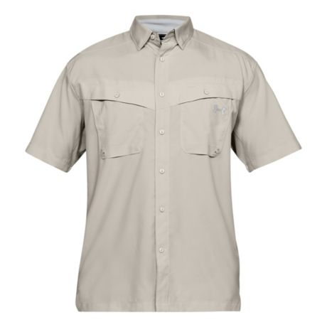 Under Armour® Men's Tide Chaser Short Sleeve Fishing Shirt