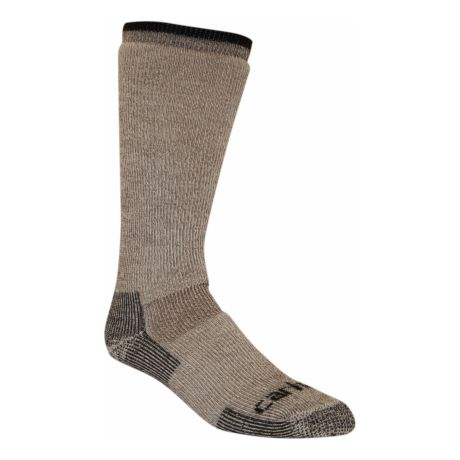 Carhartt Arctic Wool Heavyweight Boot Sock - Brown. Use + and - keys to  zoom in and out 036e6ebd480