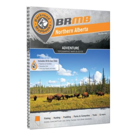 Backroad Mapbooks Northern Alberta 4th Edition