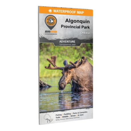 Backroad Mapbooks Algonquin Provincial Park Ontario Waterproof Map