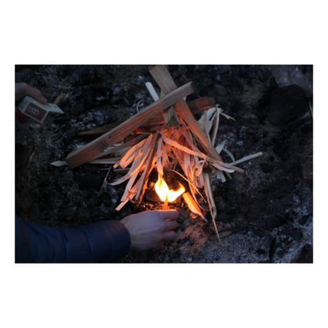 UCO Stormproof Sweetfire Firestarter - In the Field