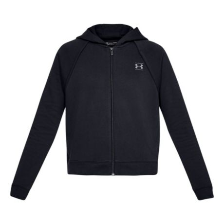 Under Armour® Women's Rival Fleece Hoodie - Black