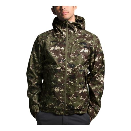 The North Face® Men's Millerton Jacket - Burnt Olive Digi Camo