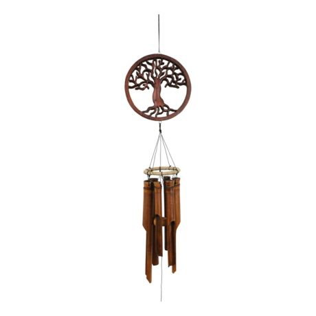Cohasset Tree of Life Bamboo Wind Chime