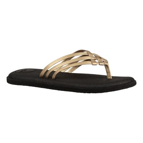 Sanuk Women's Yoga Salty Metallic Sandal