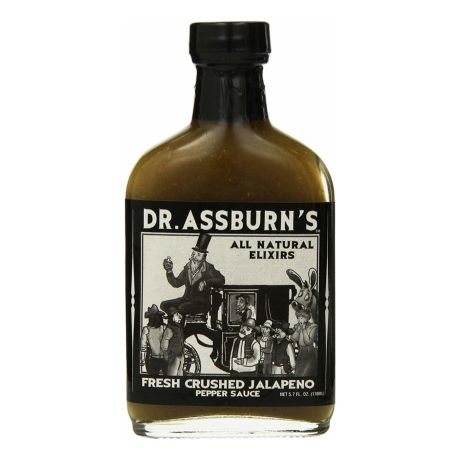 Dr. Assburn's Crushed Jalapeno Hot Sauce