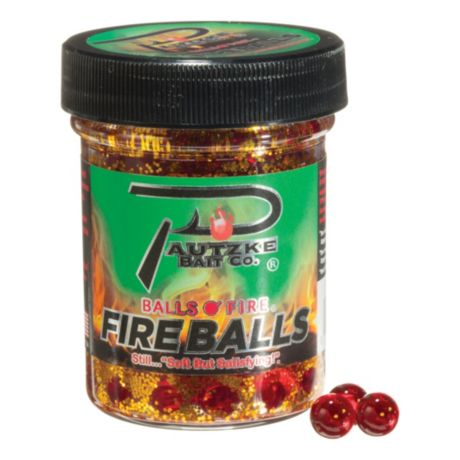 Pautzke® Fire Balls - Red/Glitter