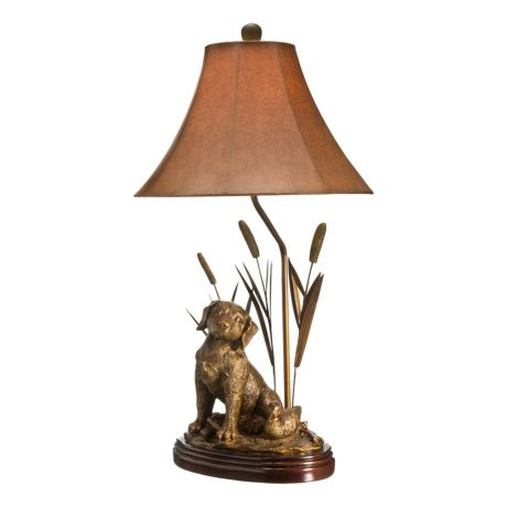 White River Dog Table Lamp