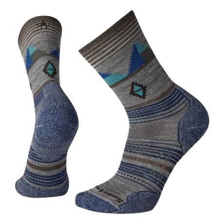 SmartWool® Men's PhD® Outdoor Light Pattern Crew Socks