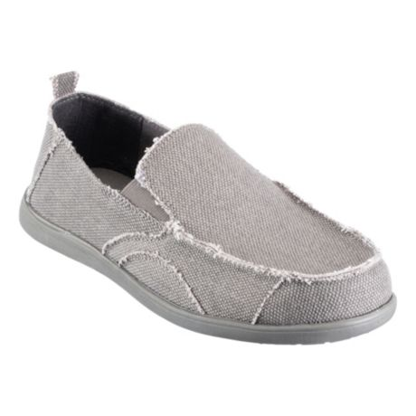 RedHead® Men's Chilled Out Canvas Slip-On Shoes - Charcoal