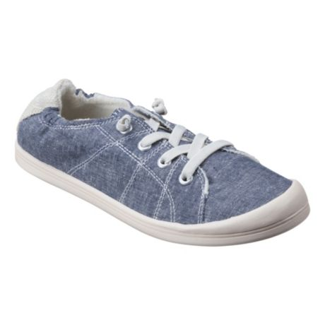 Natural Reflections® Women's Lindsey Canvas Slip-On Shoes - Blue