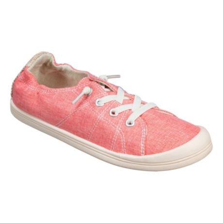 Natural Reflections® Women's Lindsey Canvas Slip-On Shoes - Coral