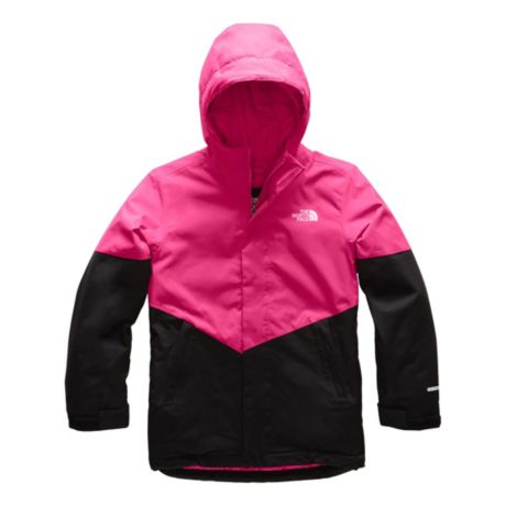 The North Face® Girls' Brianna Insulated Jacket - Mr. Pink