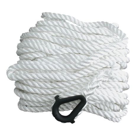 Bass Pro Shops® Twisted Nylon Anchor Line - White