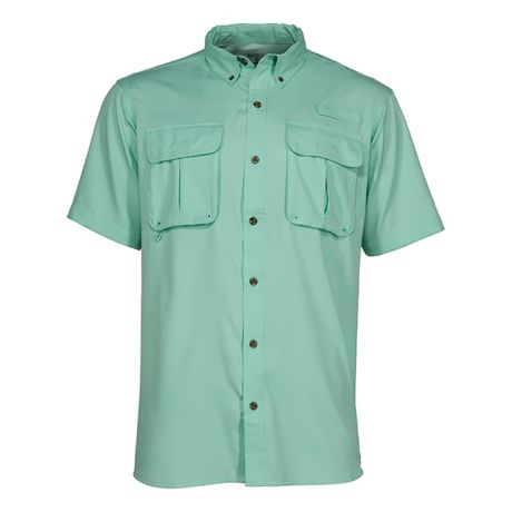 RedHead® Men's Angler Series Tourney Trail Short-Sleeve Shirt - Barbados