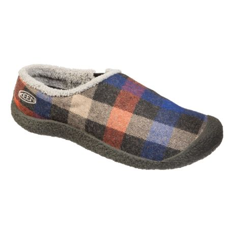 Keen® Women's Howser Wool Slides - Multi Plaid/Raven