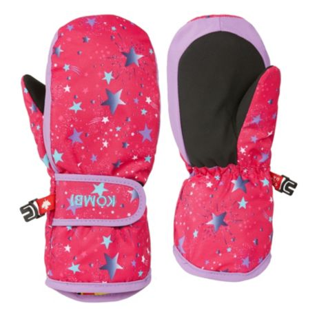 Kombi® Infants'/Toddlers' Graceful Short Cuff Mittens - Pink Polaris