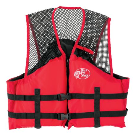Bass Pro Shops® Basic Mesh Fishing Life Vest