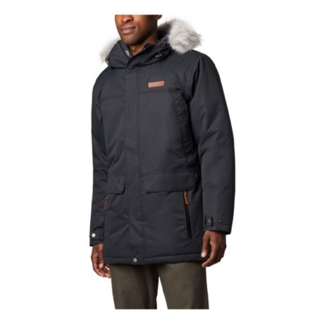 Columbia™ Men's South Canyon™ Long Down Parka - Black