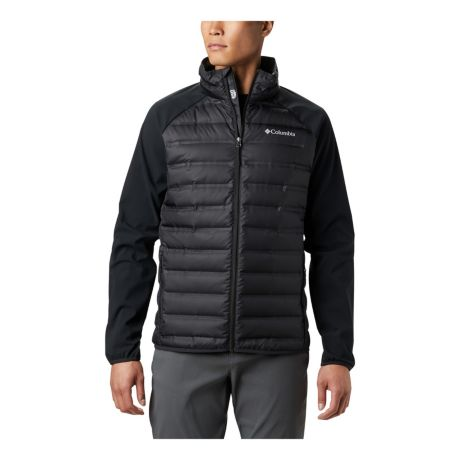 Columbia™ Men's Lake 22™ Hybrid Down Jacket - Black