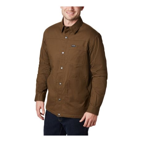 Columbia™ Men's Rugged Ridge Shirt Jacket - Olive Green