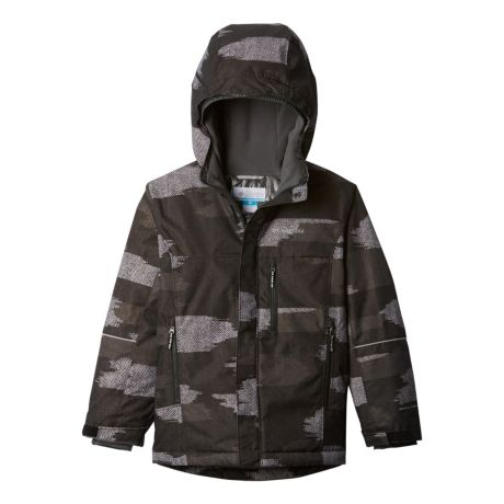 Columbia™ Boys' Mighty Mogul™ Jacket - Black Camo
