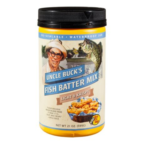 Uncle Buck®'s Light 'n Krispy Fish Batter Mix