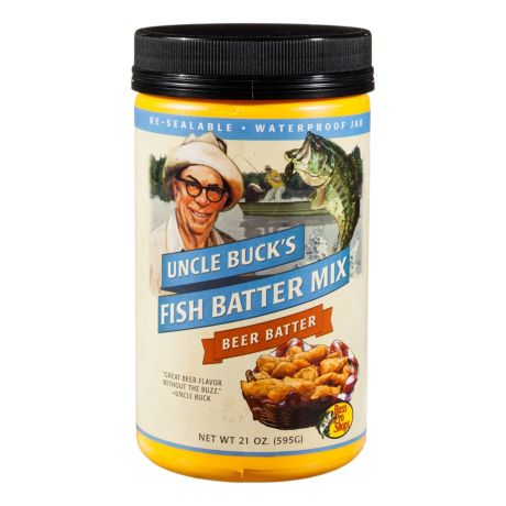 Uncle Buck®'s Beer Batter Mix
