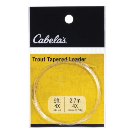 Cabela's Tapered Trout Leaders