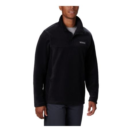 Columbia™ Men's Steens Mountain™ Half Snap Fleece Pullover - Black