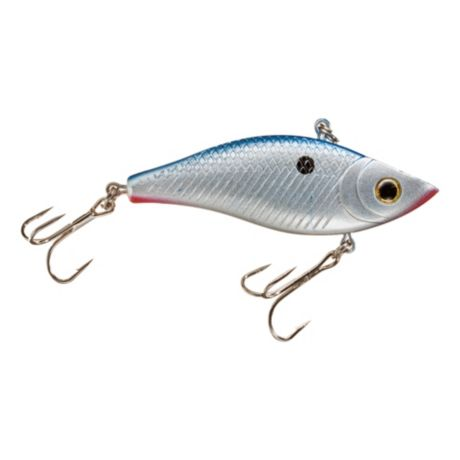 Bass Pro Shops® Tourney Special Rattle Bait - Chrome/Blue Back