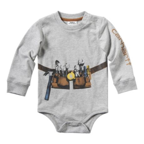 Carhartt® Infants'/Toddlers' Construction Stack Bodyshirt