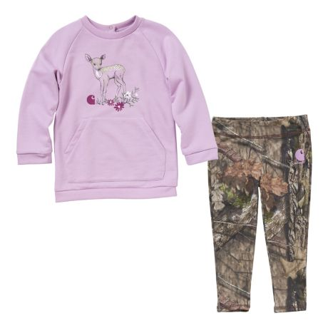 Carhartt® Infants'/Toddlers' Camo 2-Piece Legging Set